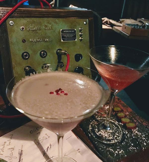 the bletchly bar cocktails