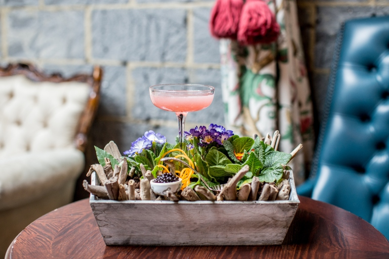 cocktails in the city three six six gin forest brockmans gin