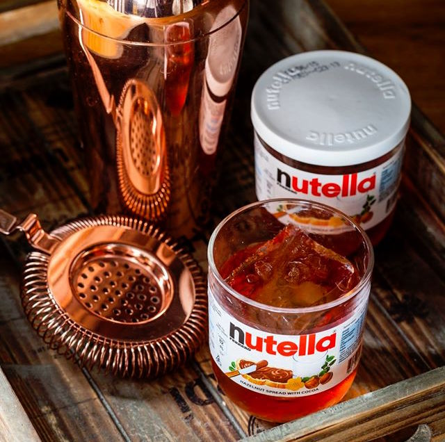 nutella negroni duck and waffle